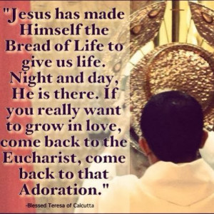 ... Mass Readings and Reflection - Jesus' Invitation To The Eucharist