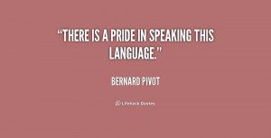 Pride Quotes