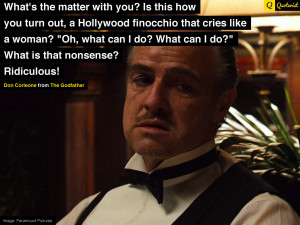 GALLERY: The Godfather Vito Corleone Quote