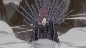 Nagato wounded following his fight with Hanzō.