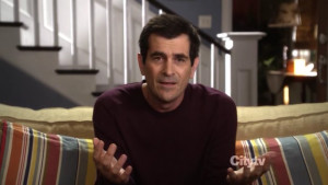 it was Modern Family´s Halloween episode , and as usual, Ty Burrell ...