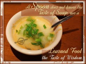 Soup Quotes