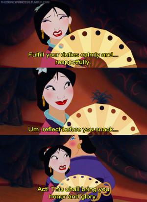 Mulan Quotes Tumblr Mulan. # quote