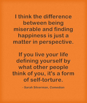 The Difference Between Finding Happiness and Being Miserable