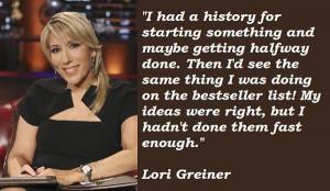 Lori Greiner Famous Quotes 1 picture