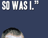 Doctor Who Ninth Doctor Bookmark with Parting of Ways Quote
