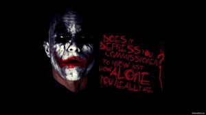 Inspirational Quote And Joker