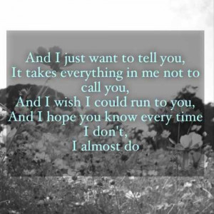 Taylor swift - I almost do