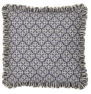 Elysee Ruffled Fabric Euro Sham - 26 inch