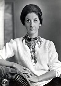 nadine gordimer wearing an arab necklace 1953 photo leon levson nadine ...