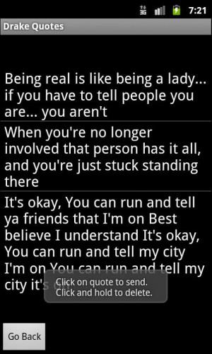 Drake Quotes - screenshot