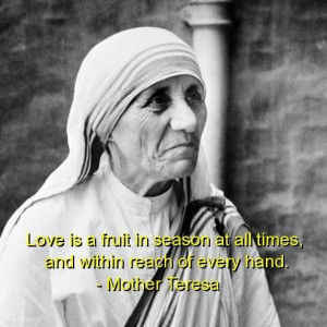Mother teresa quotes sayings love cute wise witty