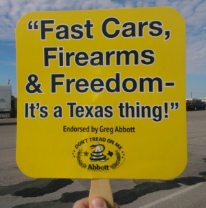 That's what I like about Texas!!!...its a southern thing too!