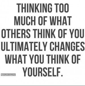 Don't care what people think of you