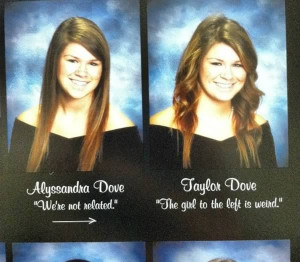 10 Hilarious Twins In Yearbooks