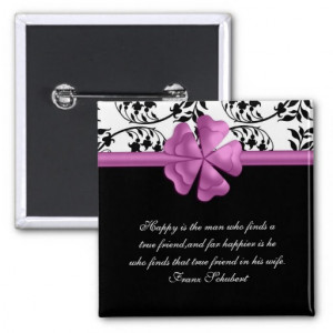 Black Marriage Quotes Pink and black damask marriage