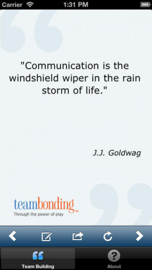 Great Team Building Quotes...