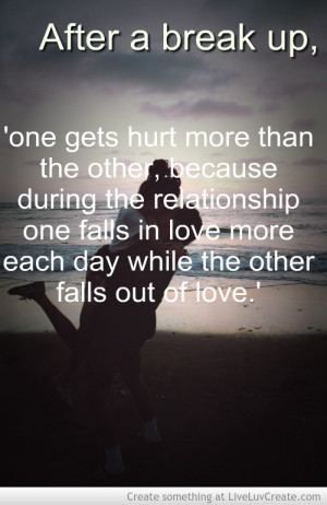 inspirational quotes after a break up