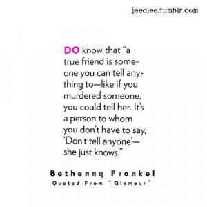 True Friendship Quotes Tumblr