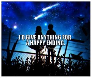 Happy Ending - quotes Photo