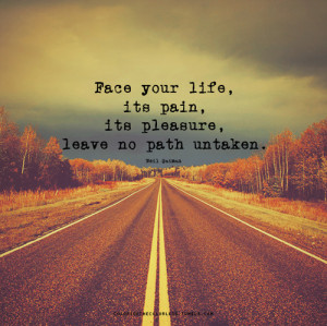 happiness, life, pain, path, pleasure, quotes, road, sadness, true ...