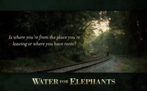 water for elephants quote