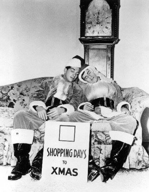 Jerry Lewis and Dean Martin, Santa Claus, Christmas
