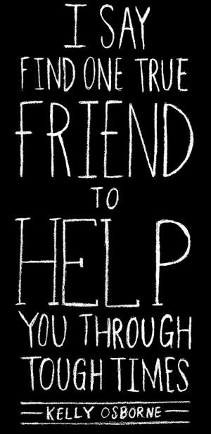 Find One True Friend | 55