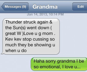 Kevin Durant's grandma doesn't like it when he curses
