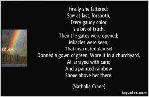 More Nathalia Crane Quotes