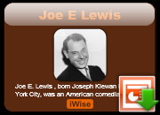 Joe E Lewis quotes