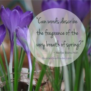 ... breath of spring?