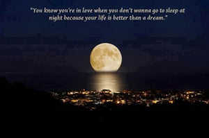 Quotes About Love and the Moon
