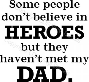 Vinyl Wall Lettering Quotes Dad Father Son Hero Daughter Shop
