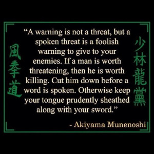 Quote, Samurai, Zen