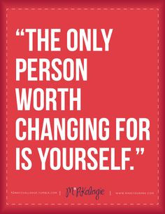 Quote on Self-Love. change quotes More