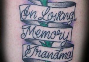 rip grandma quotes tattoos