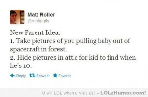 Funny Pictures Advice for new parents