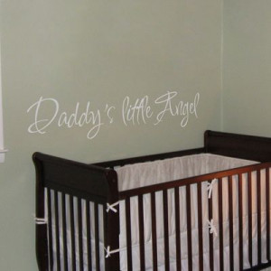 Home » Quotes » Daddy's Little Angel - Quotes - Wall Decals