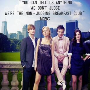 non judging breakfast club #GG