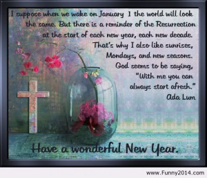 Have a wonderful new year quote 2014