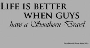 Southern drawl