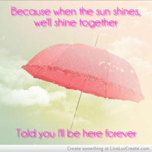 Rihanna Umbrella Love Quote