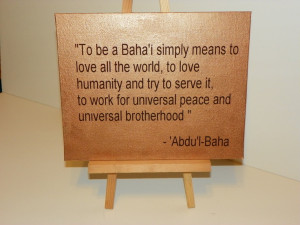 bahai quotes on love
