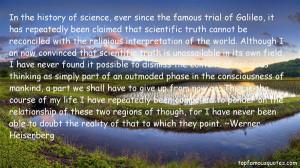 Favorite Werner Heisenberg Quotes