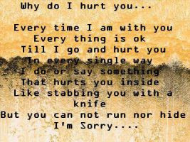 Why Did You Hurt Me Why did i hurt you? by
