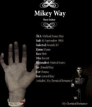 mikey way by mcrbotdfgirl