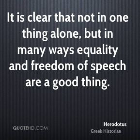 It is clear that not in one thing alone, but in many ways equality and ...