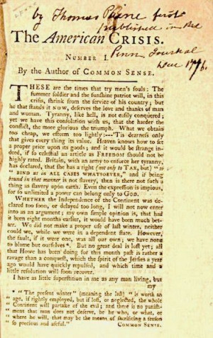 Thomas Paine:   Friends Of Liberty