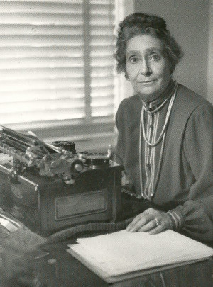 Author Lucy Sprague Mitchell